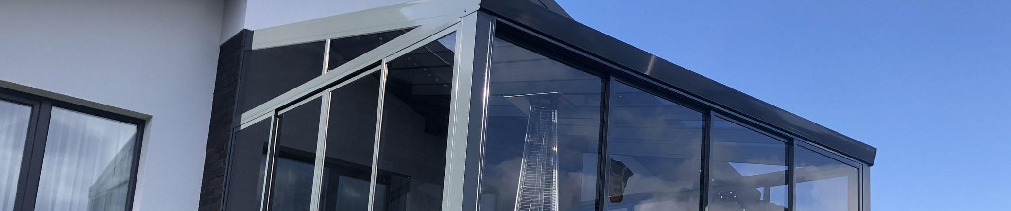 stiklo baliustrados sistemos esesx